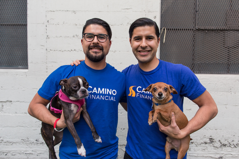 family business, Sean & Kenny Salas, the co-founders of Camino Financial